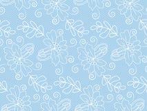 Bloemenkantpatroon Stock Illustratie
