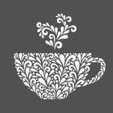 Bloemenkop royalty-vrije illustratie