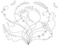 Bloemenontwerp Stock Afbeeldingen