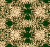 Bloemenontwerp naadloos patroon Vector Stock Afbeelding