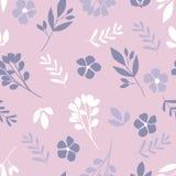 Bloemenpatroon in de kleine bloem royalty-vrije illustratie