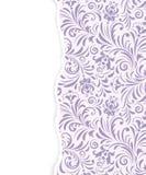 Bloemenpatroon met gescheurd document vector illustratie
