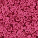 Bloemenpatroon, naadloze textuurbloemen in uitstekende stijl Stock Foto