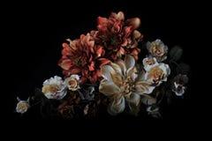 Bloemenregelingsstilleven Stock Foto's