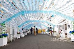 Bloemfestival (festas do povo, Campo Maior 2015, Portugal) Stock Fotografie