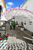 Bloemfestival (festas do povo, Campo Maior 2015, Portugal) Stock Foto