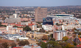 Bloemfontein do centro. Imagens de Stock