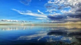 Bloemhof水坝,南非 库存图片