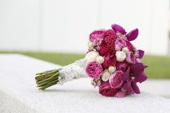 Bloemhuwelijk bouque Royalty-vrije Stock Foto