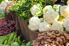 Bloemkool en andere groenten Stock Fotografie