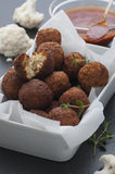 Bloemkool Falafel Stock Foto's