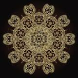 Bloemmandalas Uitstekende decoratieve elementen Oosters patroon in de stijl van Islam, Arabisch, Indiër, Turks, Pakistan Royalty-vrije Stock Afbeelding