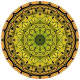 Bloemmandalas Uitstekende decoratieve elementen Oosters patroon, vectorillustratie Royalty-vrije Stock Afbeelding