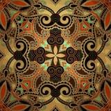 Bloemontwerp op grungeachtergrond Royalty-vrije Stock Afbeelding
