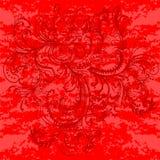 Bloemornament. Abstracte achtergrond. Royalty-vrije Stock Fotografie