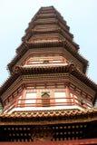 Bloempagode, de belangrijkste structuur van de Tempel van Zes Banya Stock Fotografie