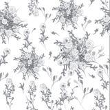 Bloempatroon Royalty-vrije Stock Afbeelding