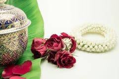 Bloemwiel op Moeder` s Dag en Songkran-dag in Thaise tradi wordt gebruikt die Stock Afbeeldingen