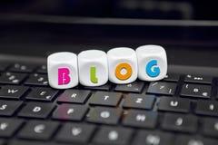 Blog über alles Lizenzfreie Stockfotografie
