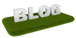 blog χλόη Στοκ φωτογραφία με δικαίωμα ελεύθερης χρήσης