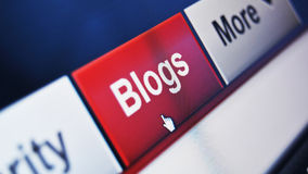 blog Obraz Royalty Free