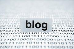Blog Lizenzfreie Stockfotografie