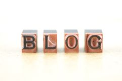 Blog Royalty Free Stock Photos