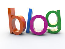 Blog Royalty Free Stock Photography