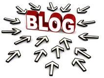 Blog stock illustratie