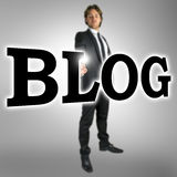 Blog Lizenzfreies Stockfoto