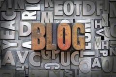 Blog Lizenzfreies Stockbild