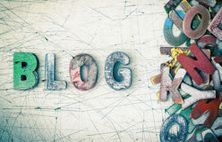 Blog στοκ εικόνες
