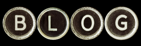 Blog Photographie stock libre de droits
