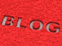 Blog. Achtergrond Stock Fotografie