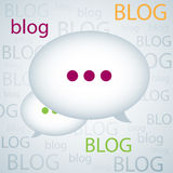 Blog background Stock Images