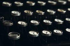 Old Typewriter Keys Royalty Free Stock Photos