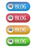 Blog button Stock Image