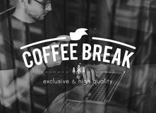 Blog Chat Business Coffee Break Home Concept Royalty Free Stock Photography