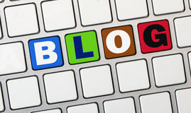 Blog concept Royalty Free Stock Images