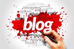 Blog concept Stock Photo