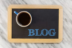 Blog concept Royalty Free Stock Photography