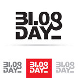 Blog Day Sign Royalty Free Stock Photo