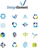 Blog design elements Stock Photo