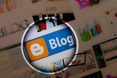 Blog logo Stock Photography