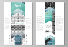 Blog graphic business templates. Page website design template, vector layout. Abstract infinity background, 3d structure Stock Photo