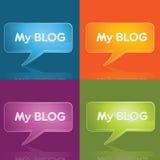 Blog icon Royalty Free Stock Image