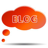Blog icon Royalty Free Stock Photography