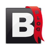 Blog icon / button Royalty Free Stock Photo