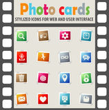 Blog icon set. Blog web icons for user interface design Stock Images