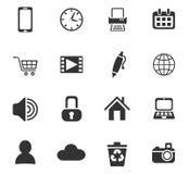 Blog icon set Royalty Free Stock Images